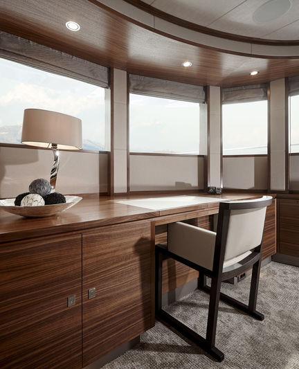 Bijoux owner's cabin study