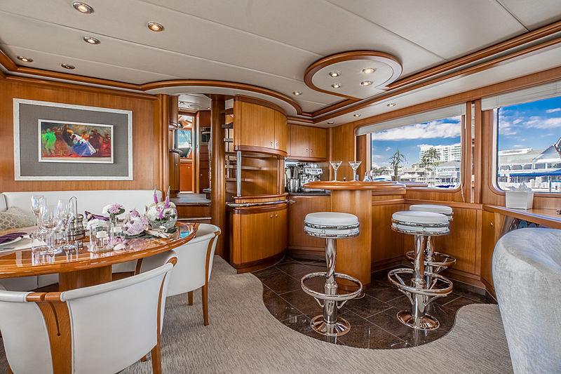 Coy Koi yacht bar
