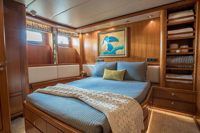 Coy Koi yacht vip cabin