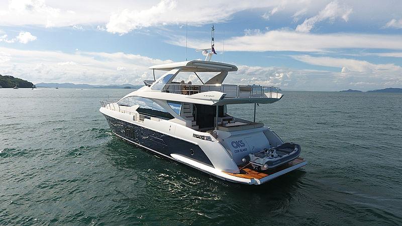 OKS yacht anchored