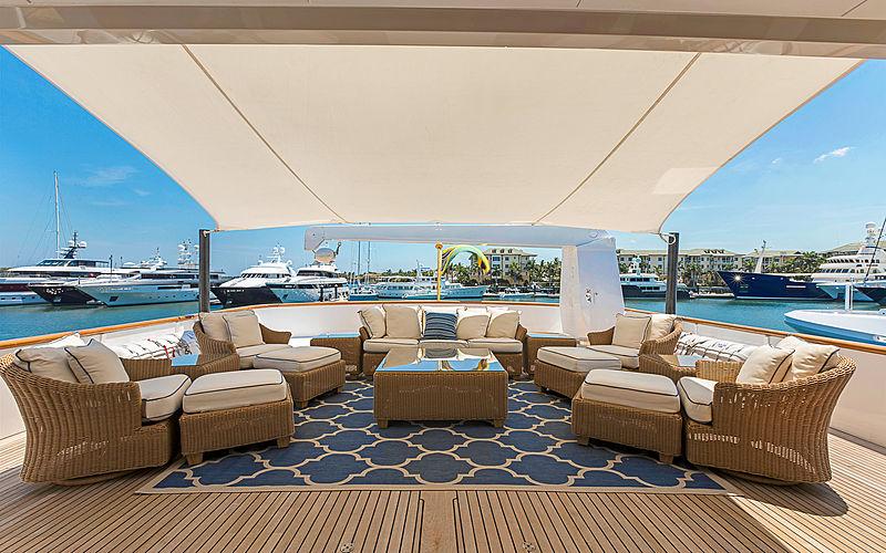 Praxis yacht deck