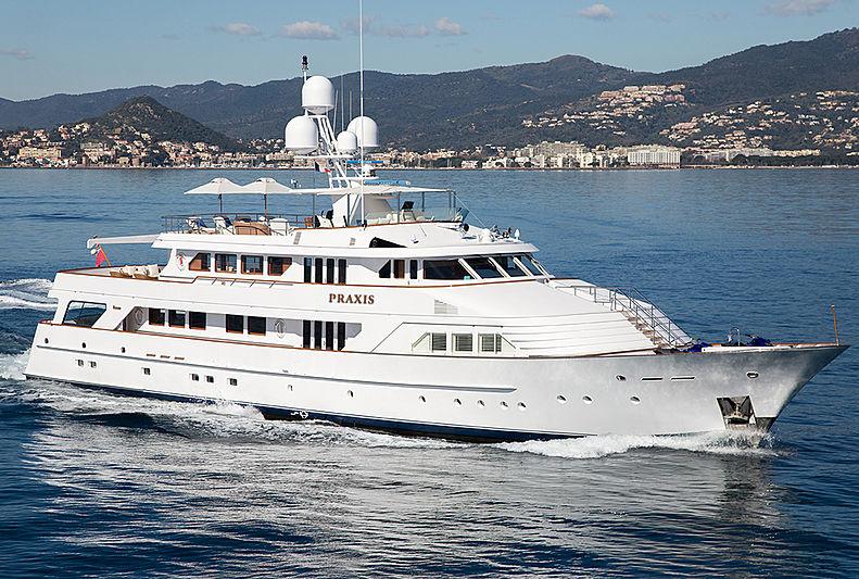 Praxis yacht cruising