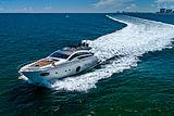 Milagro's yacht cruising