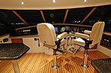 Lady O yacht wheelhouse