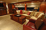 Lady O yacht saloon