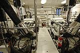 Lady O yacht engine room