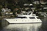 Lady O yacht anchored