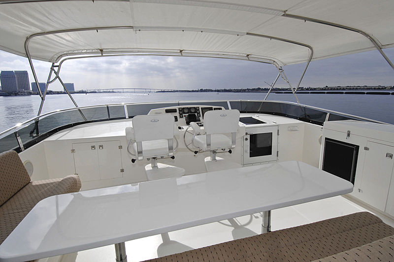 Lady O yacht bridge