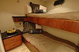 Lady O yacht bunkbed cabin