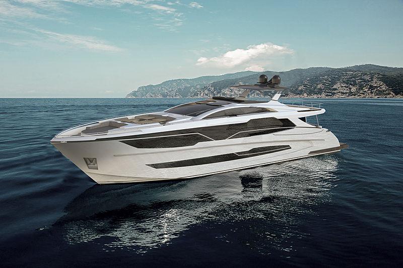 Sedna 100 yacht exterior design