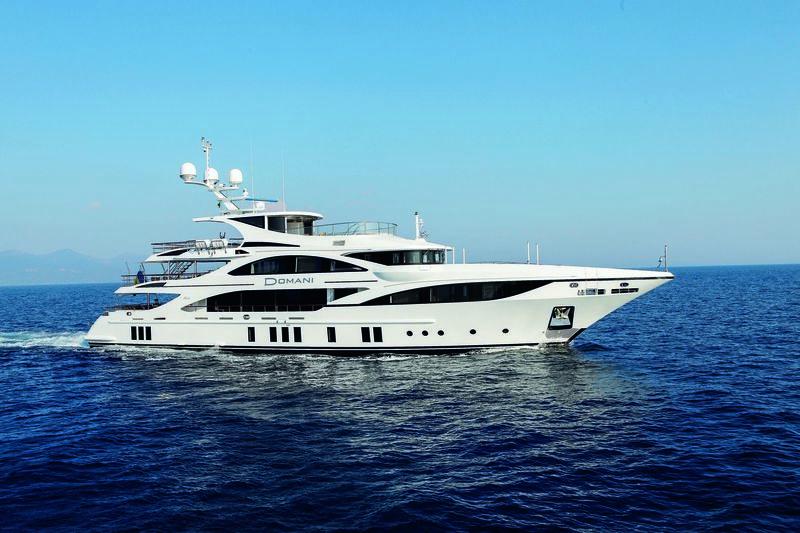 DOMANI yacht Benetti