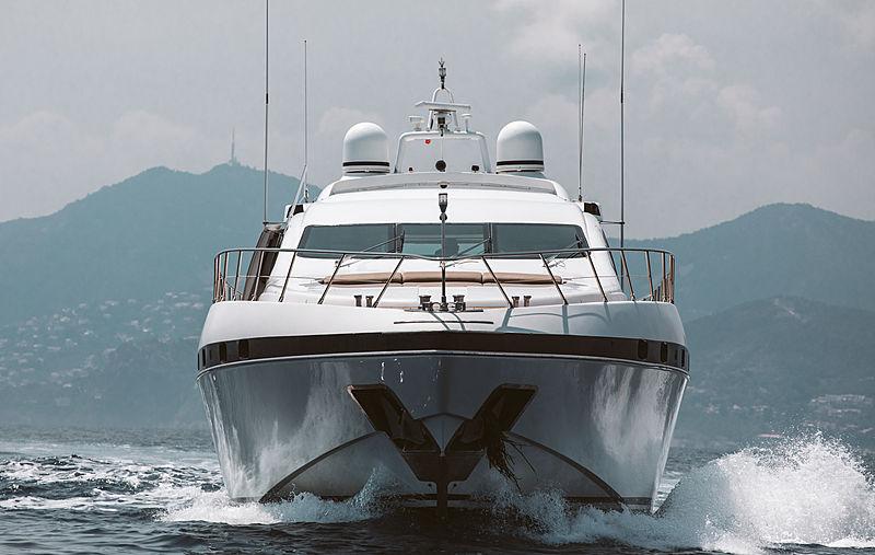 Mangusta 92 yacht in Cannes