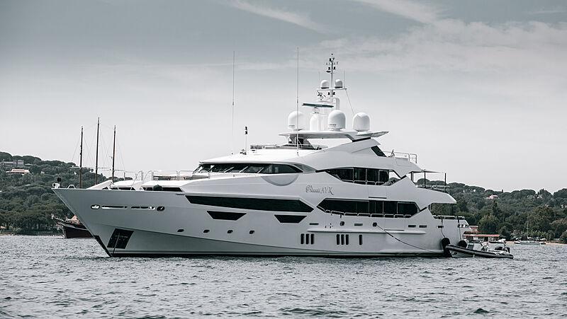 Princess AVK yacht in Saint-Tropez