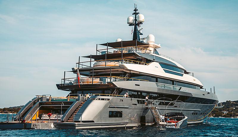 Attila yacht in Saint-Tropez
