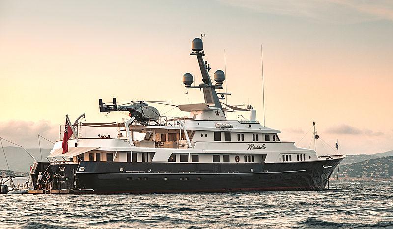 Minderella yacht in Saint-Tropez