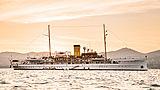 SS Delphine yacht in Saint-Tropez