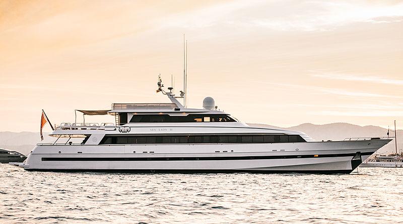 Sea Lady II yacht in Saint-Tropez