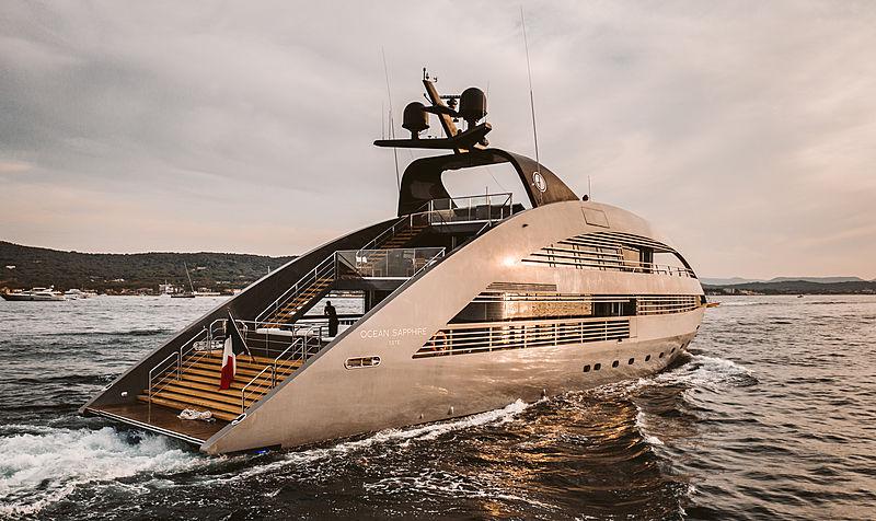 Ocean Sapphire yacht in Saint-Tropez