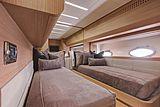 Milagro's yacht twin cabin