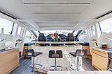 Milagro's yacht wheelhouse