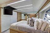 Milagro's yacht cabin