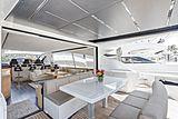 Milagro's yacht deck