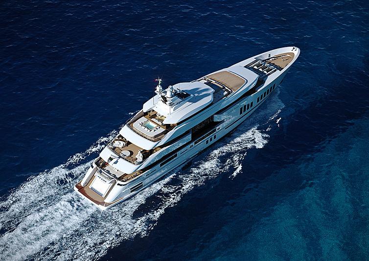 Life Saga yacht exterior design