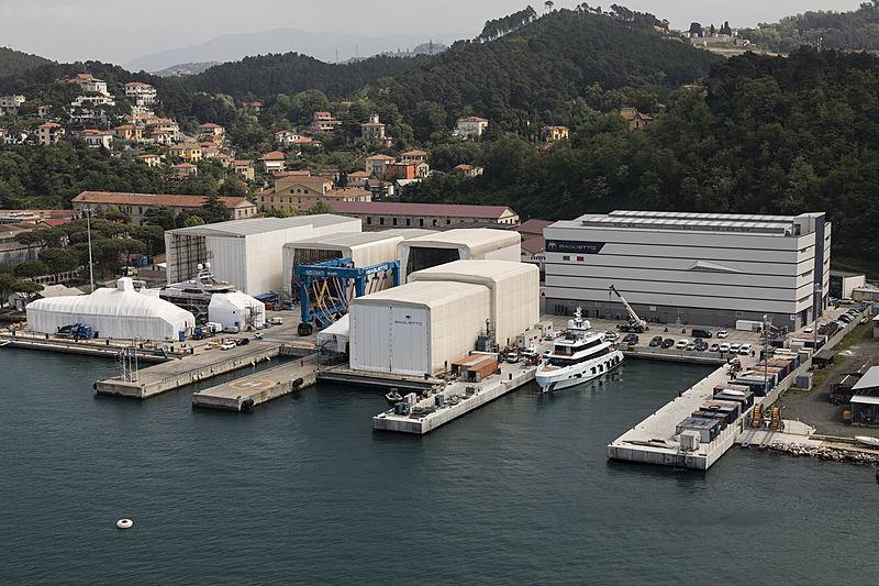 Baglietto shipyard in La Spezia
