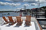 Aurore yacht top deck