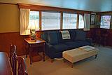 Aurore yacht saloon