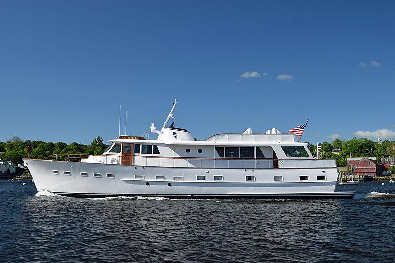 AURORE yacht Burger Boat Company
