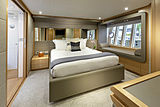La Pace yacht master cabin