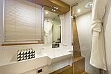 La Pace yacht bathroom