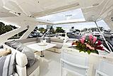 La Pace yacht deck