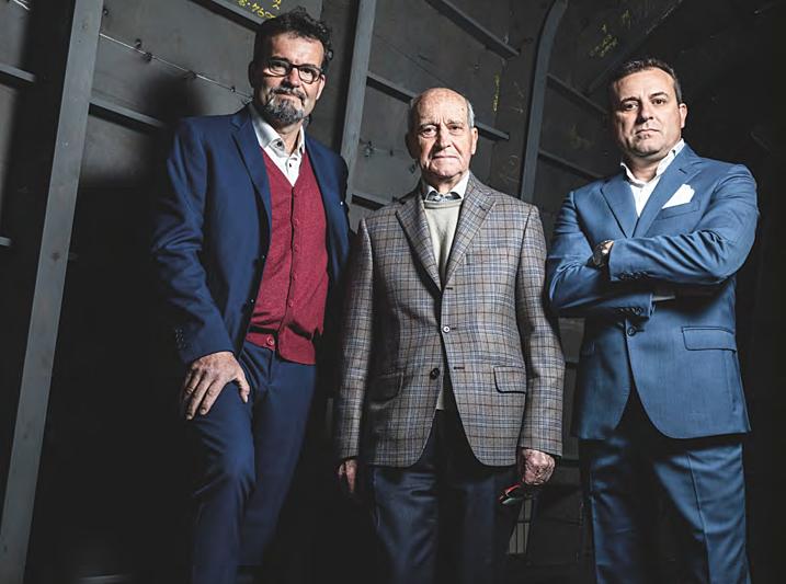 Mario Parigi, Marco Parigi and Eugenio Parigi