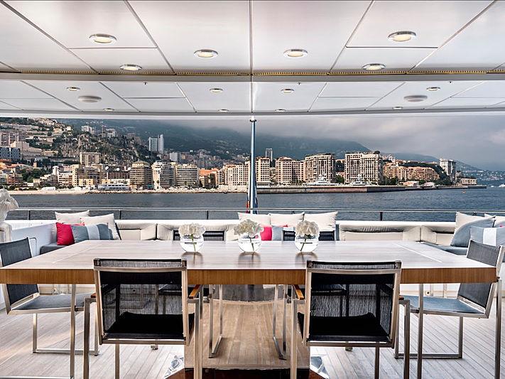 Grayzone yacht aft deck
