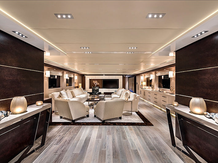 Grayzone yacht saloon
