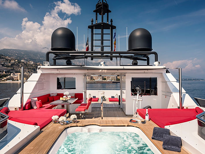 Grayzone yacht sundeck