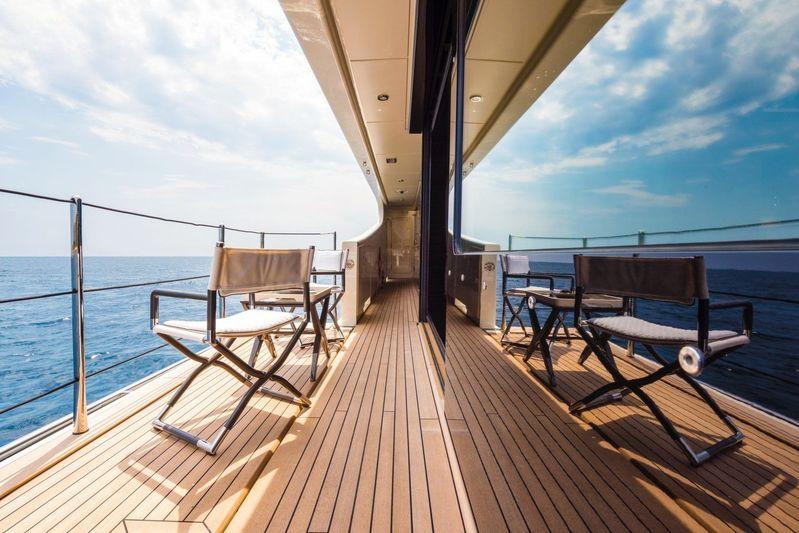 Elixir side deck balcony