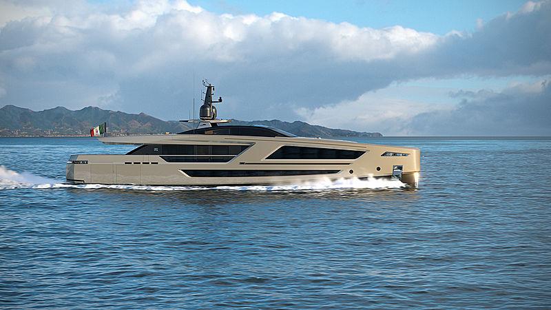Panam yacht exterior design