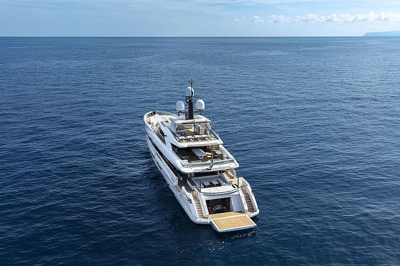 Bintador yacht anchored