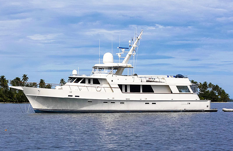 Magic Time yacht profile