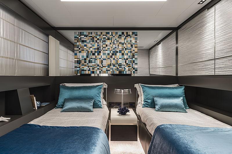 Chorusline yacht stateroom