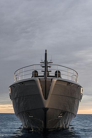 Chorusline yacht bow