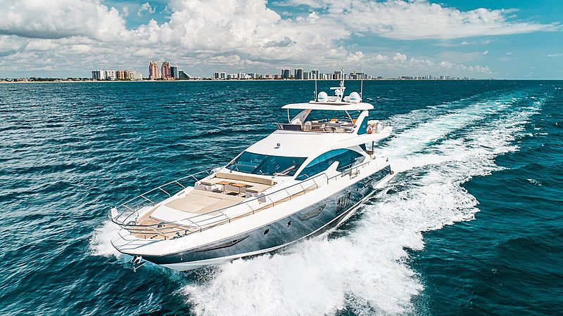 Temptation yacht cruising