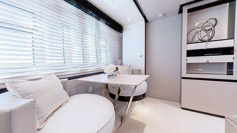 Temptation yacht stateroom