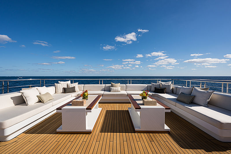Quantum of Solace yacht sundeck