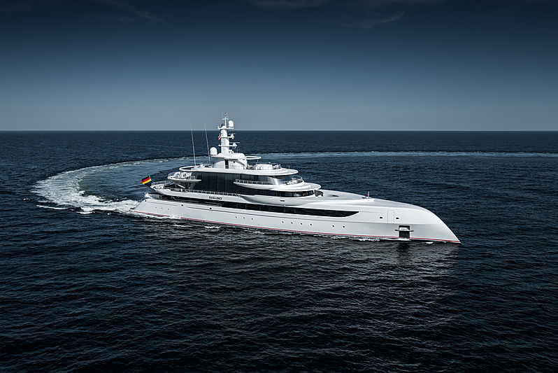 Excellence yacht sea trials