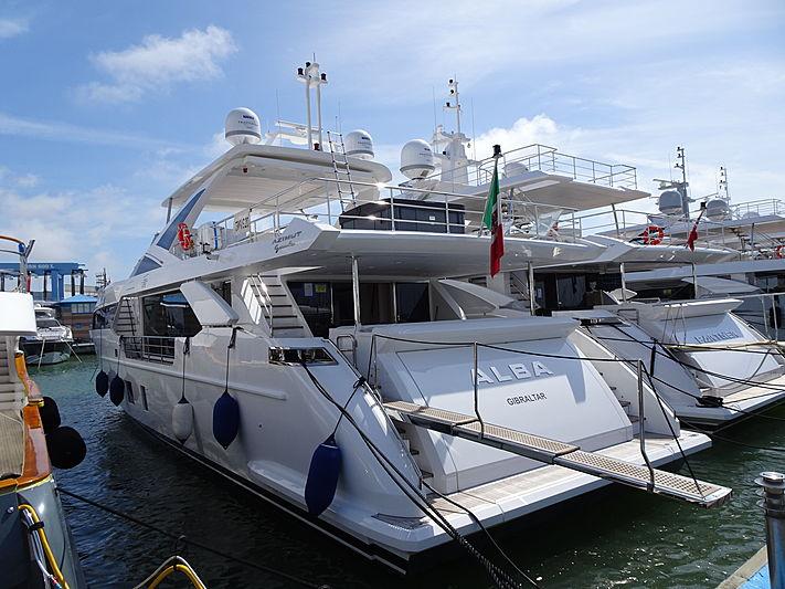 ALBA yacht Azimut