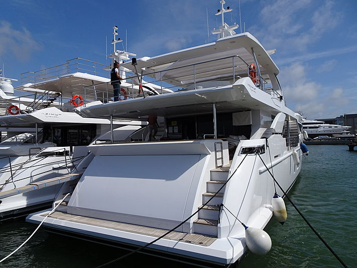 Mr Oh yacht in Viareggio